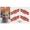 Virginia Tech Stripe Temporary Tattoos