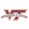VT Swimming and Diving Decal