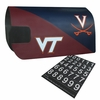VT-UVA House Divided Magnetic Mailbox Cover