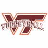 VT Volleyball Decal
