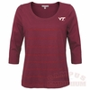 VT Womens Rhinestone Scoop Tee: Plus available!