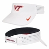 White Virginia Tech Dri-FIT Visor by Nike