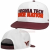 White Virginia Tech Hokie Nation Snapback by Nike