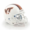 White Virginia Tech Mini Helmet from Schutt