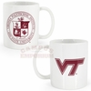 White Virginia Tech Mug