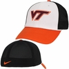 White Virginia Tech Nike Legacy91 Mesh-Back Hat