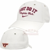 White Virginia Tech Swoosh Flex Nike Legacy91 Hat