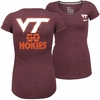 Women's Maroon Virginia Tech Go Hokies Nike Tee