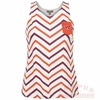 Women's Virginia Tech Chevron Stripe Tank Top