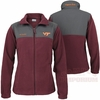 Women's Virginia Tech Fast Tech Fleece Jacket by Columbia