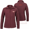 Women's Virginia Tech Give and Go Full Zip Fleece by Columbia
