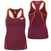 Women's Virginia Tech Rapid Racer Back Tank Top