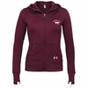 Women's Virginia Tech UA French Terry Zip Hoodie