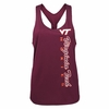 Women's Virginia Tech Winder Knot Back Tank Top