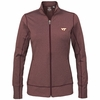 Womens Maroon Virginia Tech Topspin Jacket by Cutter and Buck