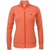 Womens Orange Virginia Tech Topspin Jacket by Cutter and Buck
