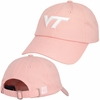 Womens Pink Adjustable Virginia Tech Cap