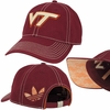 Womens Virginia Tech Adjustable Slouch Hat by Adidas