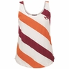 Womens Virginia Tech Candy Stripe Tank