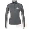Womens Virginia Tech ColdGear 1/2 Zip Performance Top