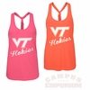 Womens Virginia Tech Electric Neon Tank by Colosseum
