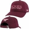 Womens Virginia Tech Hokies Under Armour Cap