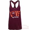 Womens Virginia Tech Love My Hokies Tank Top