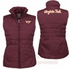 Womens Virginia Tech Olympia Winter Vest