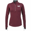 Womens Virginia Tech Platinum Dri-FIT Element Top