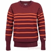 Womens Virginia Tech Plus Sized Striped Sweater