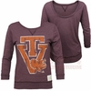 Womens Virginia Tech Retro Scoop Back Tee