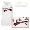 Womens Virginia Tech Sparkle Marquee Tank