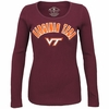 Womens Virginia Tech Thermal Long Sleeved Tee