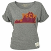 Womens VT Retro Virginia State Dolman Tee