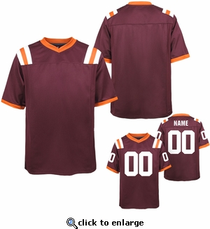 Youth Custom Football Jersey: Two Digits