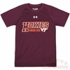 Youth Virginia Tech Hokies Under Armour Performance Tee