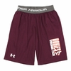 Youth Virginia Tech Under Armour Mesh Shorts