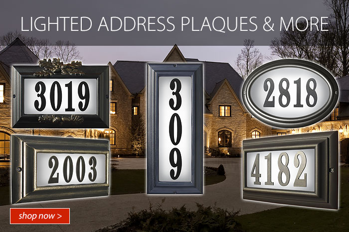 Lighted Address Plaques and More