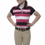 Ariat Eva Striped Rugby Shirt for Girls