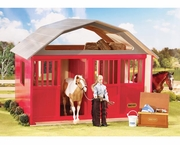 Breyer Red Horse Barn - Two Stalls