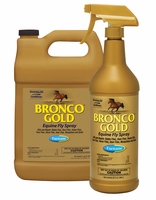 Bronco Gold Fly & Insect Repellent Spray for Horses - 32oz