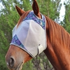 Crusader Fly Mask Standard (no Ears) with Bloom or Weave Patterns!