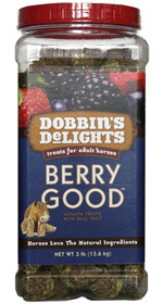 Dobbin's Berry Good Alfalfa Cubes Horse Treats