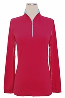 EIS Equi In Style Cool Shirt in Cherry Breeze