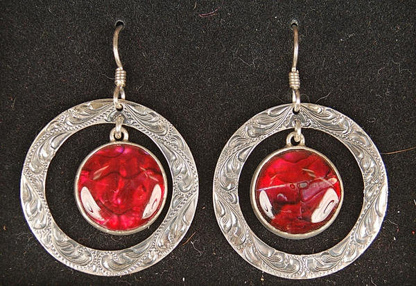 Elk Creek Circle Earrings