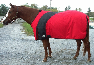 Exselle Prima Turnout Blanket - red or lime green