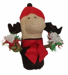 Holiday Eco-Friendly Moose Dog Toy