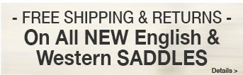 Free Shipping & Returns on NEW Saddles