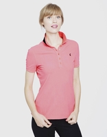 Joules Dunsden Polo in Neon Pink