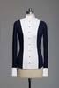 Le Fash White and Navy Show Shirt